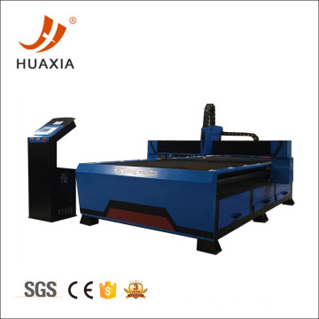 Horizontal metal plasma cutting machine